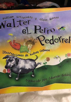 Funny Spanish Children's book / Libro de niños en español for Sale in Minneapolis, MN