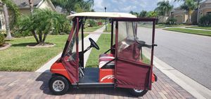 2002 48 volt Club Car golf cart in beautiful condition with brand new Trojan T875 batteries ezgo for Sale in Ruskin, FL