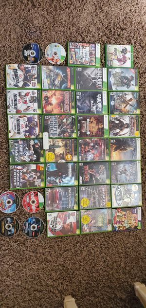 Xbox 360 Wireless Networking Adapter, Game Controller and Xbox games for Sale in Fort Lauderdale, FL