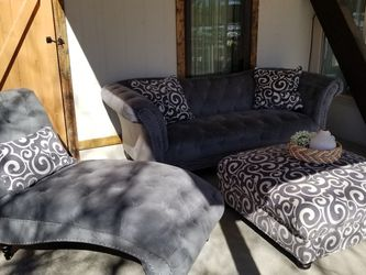 Couch, Extended Chair And Ottoman!! for Sale in Brighton,  CO
