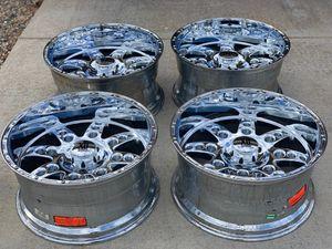 "Rare, 22"" 5x139.7/5x5.5"" Chrome KMC XD Diesel Wheels/Rims for Doodge 1500 or Ford for Sale in Sierra Vista, AZ"