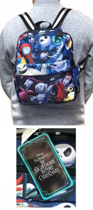 Brand New! Disney The Nightmare Before Christmas MINI small Backpack Jack Skellington sally work school book bag Disneyland Disney world for Sale in Carson, CA