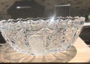 Brilliant Cut Glass Bowl for Sale in Highland Park, IL