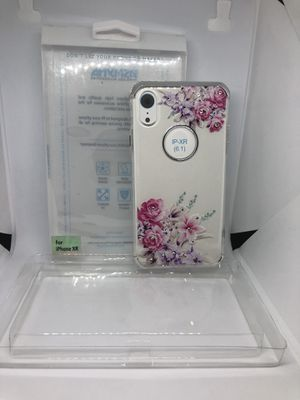 For iPhone XR flower clear TPU protective case funda cover for Sale in Hillsborough, CA