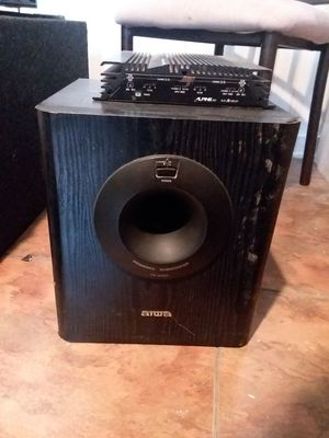 Aiwa powered subwoofer for Sale in St. Louis, MO