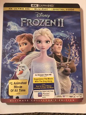 Disney movies frozen 1 and 2 for Sale in North Saint Paul, MN