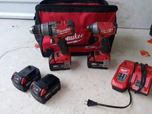 Milwaukee ONEKEY impact and hammer drill for Sale in San Antonio, TX