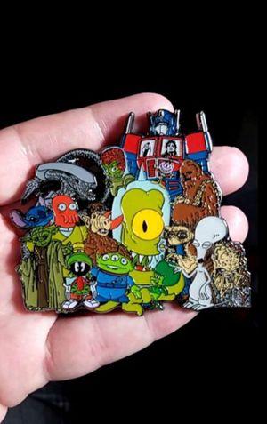 Alien Invasion Area 51 Cartoon Movie Lapel Pin for Sale in Rancho Santa Margarita, CA
