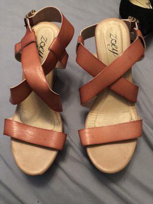 Brown heels for Sale in El Cajon, CA