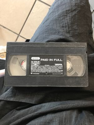 Paid in Full VHS for Sale in Wichita, KS