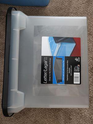 Plastic file cabinet for Sale in Seattle, WA