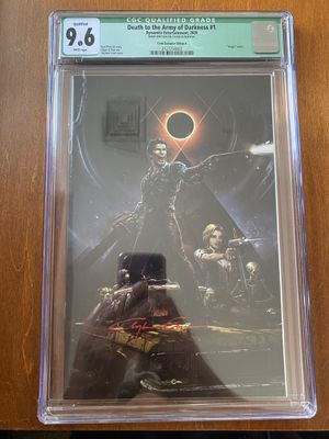 Death to the Army of Darkness 1, 9.6 for Sale in Bedford, MA