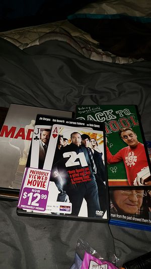 Have like over one hundred or more DVD movies for Sale in Federal Way, WA