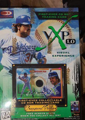 11 sealed vintage donruss baseball chrome cards for Sale in Norton, OH