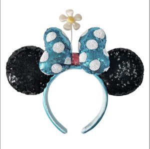 Minnie Mouse Sequined Ear Headband with Flower for Sale in Irvine, CA