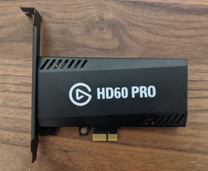 Elgato Game Capture HD60 Pro - Stream and record in 1080p60 for gaming computer desktop PC for Sale in Orlando, FL