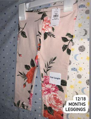 Toddler girl rose 🌹 garden leggings for Sale in Paramount, CA