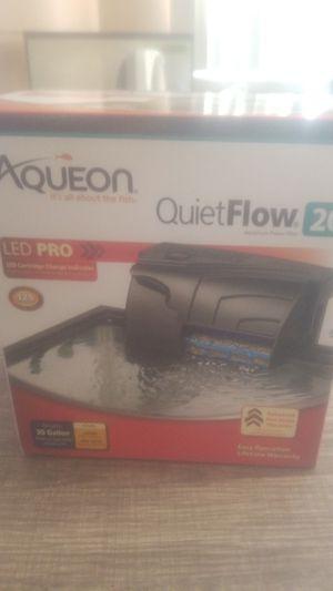 Aqueon aquarium filter for Sale in Fresno, CA