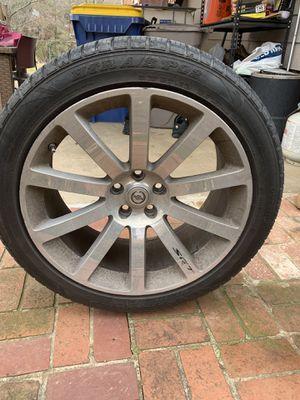 """Chrysler 300c 20"""" SRT wheel for Sale in Cheverly, MD"""