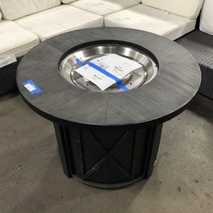 🤩NEW ARRIVAL🔥 Park Canyon 35in Round Steel Propane Fire Pit for Sale in Houston, TX