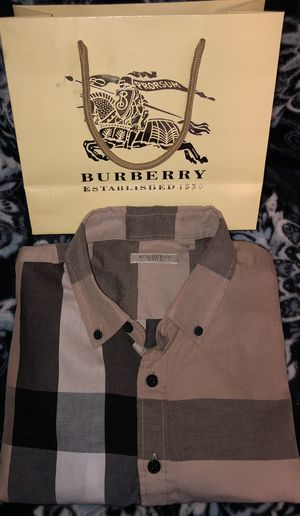 Burberry Brit Longsleeve Button Up for Sale in Sacramento, CA