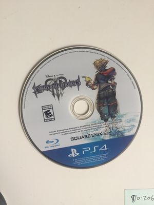 Kingdom Hearts 3 PS4 for Sale in Loganville, GA