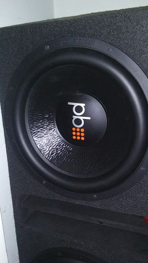15 inch PowerBass subwoofer in the Box for Sale in Murfreesboro, TN