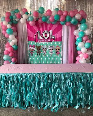 Balloon Decor - Arch, Stand/Tower or Pic Frame for your next party. Custom made - Pick out the colors & size for Sale in Mesa, AZ