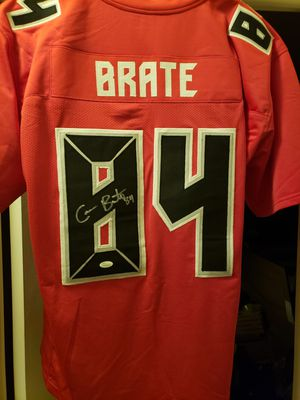 Cameron Brate Signed Buccaneers Jersey JSA for Sale in Palm Harbor, FL