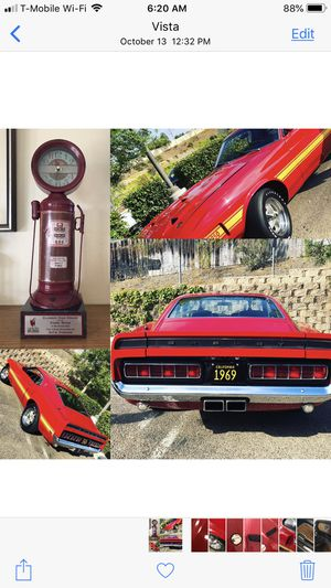 1969 Ford Mustang Shelby gt 350 collectible for Sale in Vista, CA
