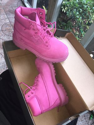 Pink Timberlands for Sale in Tampa, FL