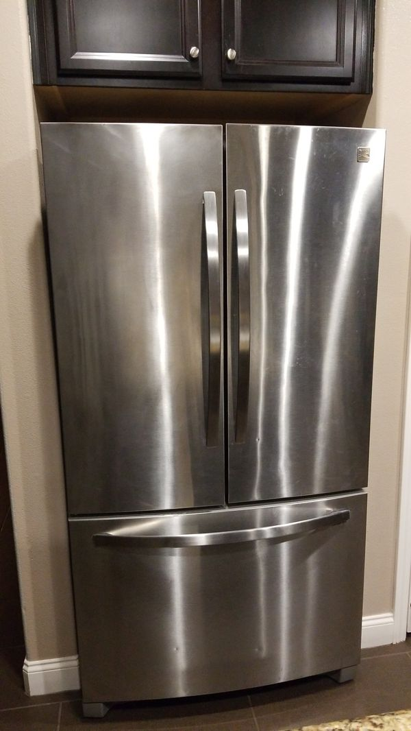 Kenmore Stainless Steel Refrigerator and Freezer
