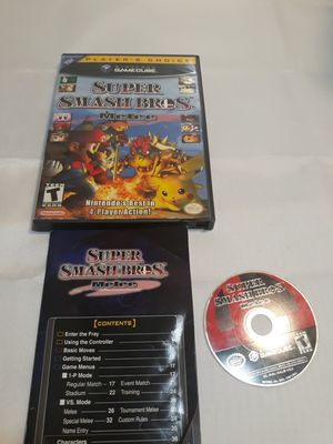 Nintendo gamecube super smashed bros for Sale in Los Angeles, CA