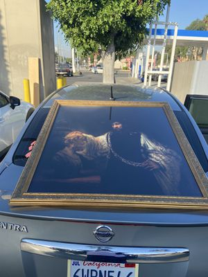 Rembrandt in gold frame for Sale in Riverside, CA
