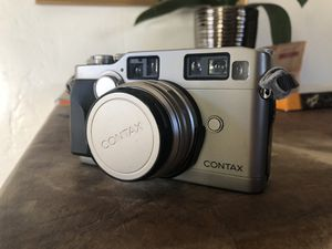 Contax G2 film camera with 35mm lens original strap and a camera bag for Sale in Los Angeles, CA