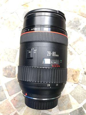 Canon (L) Lens ...VERY RARE (28-80mm f2.8-4) SHARP IMAGE for Sale in Philadelphia, PA