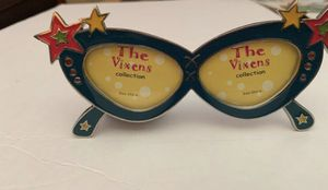 The Vixens Collection Enamel Nostalgic glasses in Metal Mini Double Picture Frames 3x2 🆁🅰︎🆁🅴 🅵🅸🅽🅳❗️ for Sale in South Miami, FL