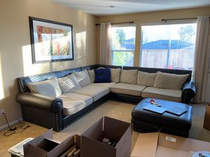 Over Sized Sectional Couch for Sale in Chula Vista, CA