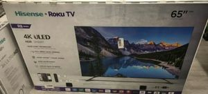 "65R8F 65"" Hisense uled 4k smart hdr for Sale in Chino, CA"