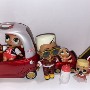 """Lol Dolls """"MC swag"""" And Family W/car for Sale in Boring, OR"""