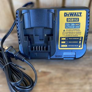 Dewalt 12vMax/20vMax Charger DCB112 for Sale in Azusa, CA