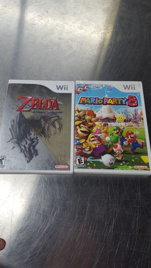 Zelda, mario party for wii for Sale in Portland, OR