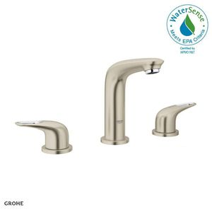 GROHE Eurostyle 8 in. Widespread 2-Handle Bathroom Faucet in Brushed Nickel Infinity for Sale in Dallas, TX