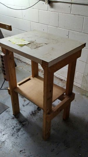 Drill bench press table for Sale in Winchester, VA
