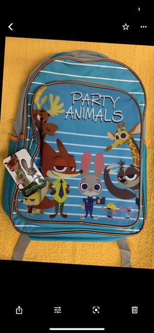 Disney zootopia backpack for Sale in Downey, CA