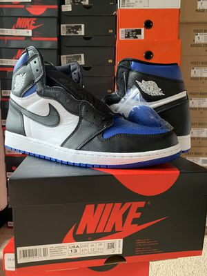 Jordan 1 Royal Toe Size 10.5-11-12-13 available for Sale in Fairfax, VA
