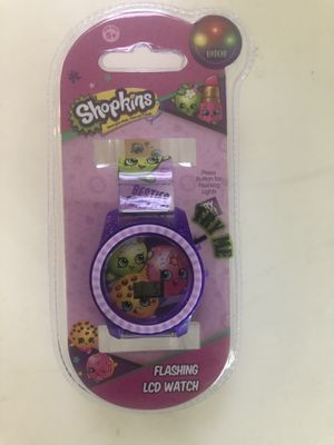 Shopkins Flashing LCD watch new for Sale in Irvine, CA