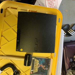 ps3 with 2 games for Sale in San Francisco, CA