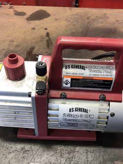 2 Stage 3 CFM Vacuum Pump New for Sale in Miami,  FL