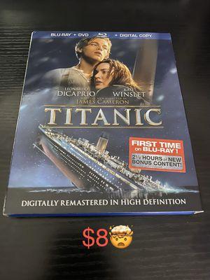 Titanic (Four-Disc Combo: Blu-ray / DVD ) for Sale in Duarte, CA